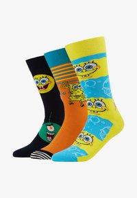Happy Socks - SPONGE BOB GIFT BOX 3 PACK - Ponožky - multi - 1