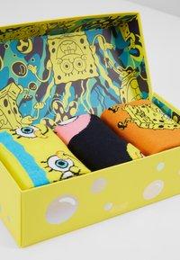 Happy Socks - SPONGE BOB GIFT BOX 3 PACK - Ponožky - multi - 2