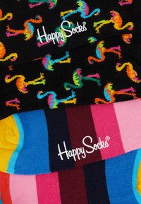 Happy Socks - FLAMINGO STRIPE SOCK 2 PACK - Sokken - multi - 2