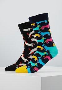 Happy Socks - CAT DOG SOCK 2 PACK - Ponožky - multi - 0