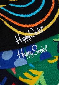 Happy Socks - BIG LEAF PSYCHEDELIC SOCK 2 PACK - Sokken - multi - 2