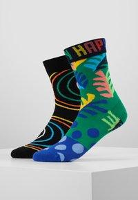 Happy Socks - BIG LEAF PSYCHEDELIC SOCK 2 PACK - Sokken - multi - 0