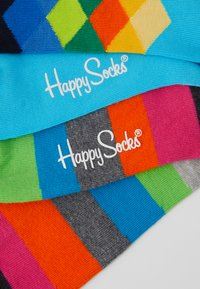 Happy Socks - 2 PACK FADED DIAMOND STRIPE SOCK - Sokken - multi - 2