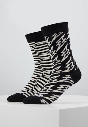 FLASH LIGHTNING OPTIC DOT SOCK 2 PACK - Ponožky - multi
