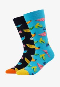 Happy Socks - 2 PACK WATERMELON BANANA - Sokken - multi - 1