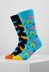 Happy Socks - 2 PACK WATERMELON BANANA - Sokken - multi - 0