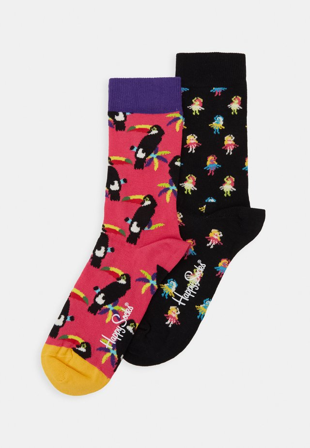 HULA TOUCAN 2 PACK - Ponožky - multicoloured