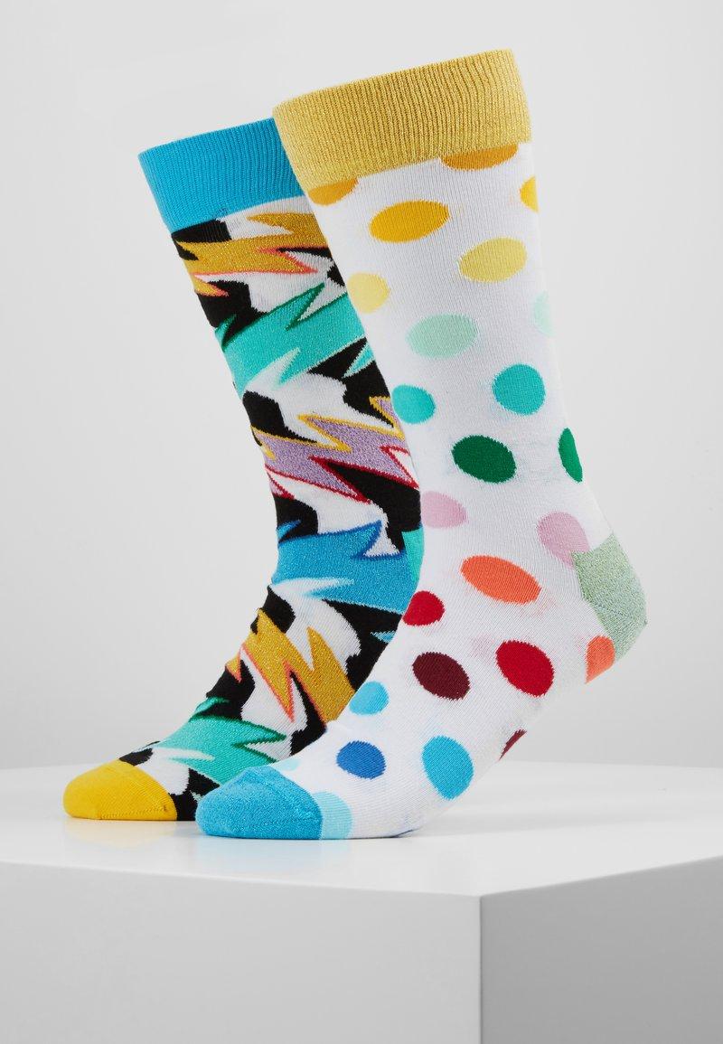 Happy Socks - ROCK N ROLL POLKA STRIPE SOCK 2 PACK - Sokken - multi
