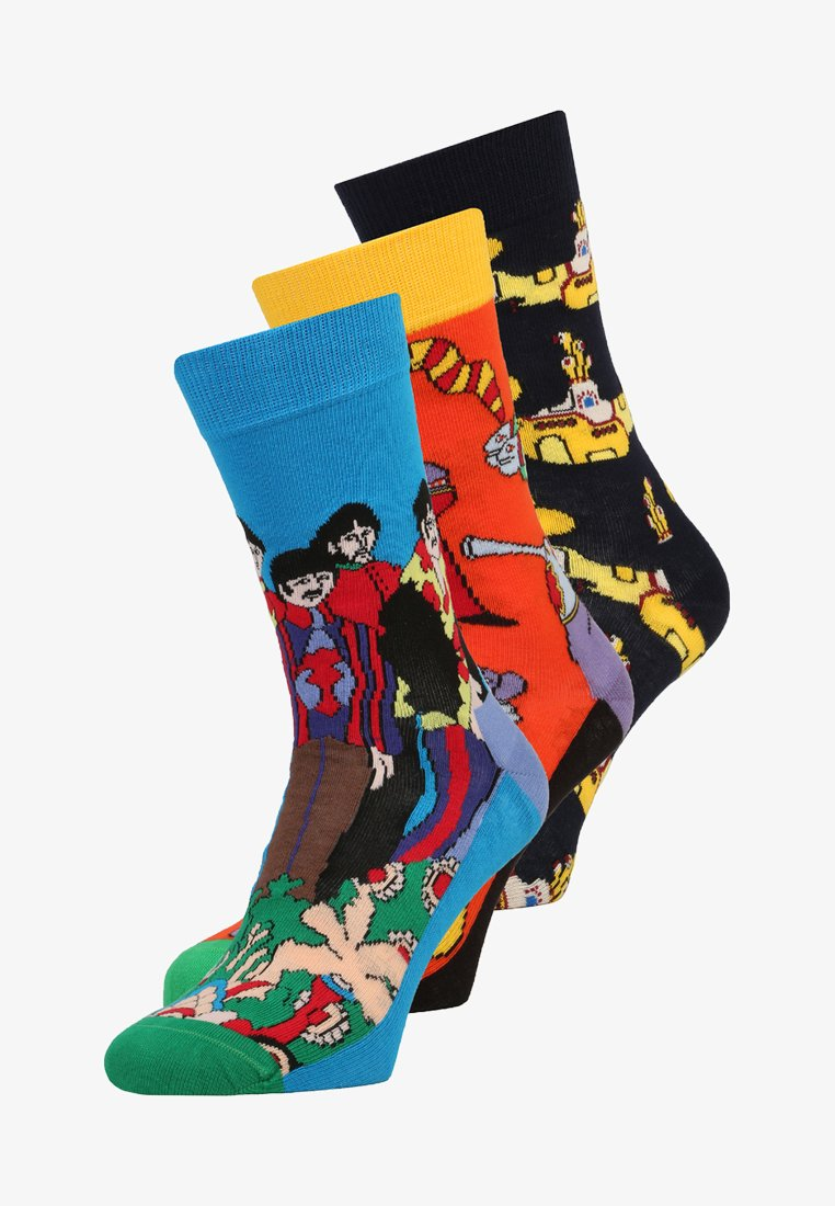 Happy Socks - THE BEATLES COLLECTORS 3 PACK - Socks - multi