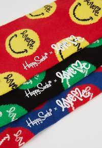 Happy Socks - CURTIS KULIG 3 PACK BOX WITH PILLOW - Calcetines - multi-coloured - 2