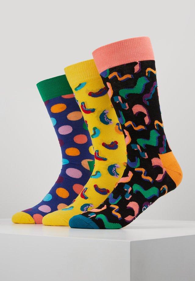 BIRTHDAY GIFT BOX 3 PACK - Ponožky - multi-coloured