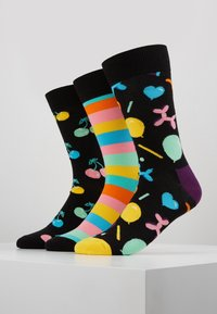 Happy Socks - PLAYING BIRTHDAY GIFT BOX 3 PACK - Ponožky - multi-coloured - 0