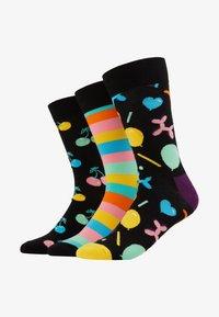 Happy Socks - PLAYING BIRTHDAY GIFT BOX 3 PACK - Ponožky - multi-coloured - 1
