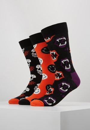 HALLOWEEN GIFT BOX 3 PACK - Ponožky - multi