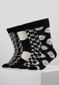 Happy Socks - GIFT BOX 4 PACK - Sokken - black/white - 0