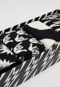 Happy Socks - GIFT BOX 4 PACK - Sokken - black/white - 2