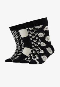Happy Socks - GIFT BOX 4 PACK - Sokken - black/white - 1