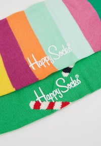 Happy Socks - HOLIDAY CRACKER CANDY CANE 2 PACK - Calcetines - multi - 2