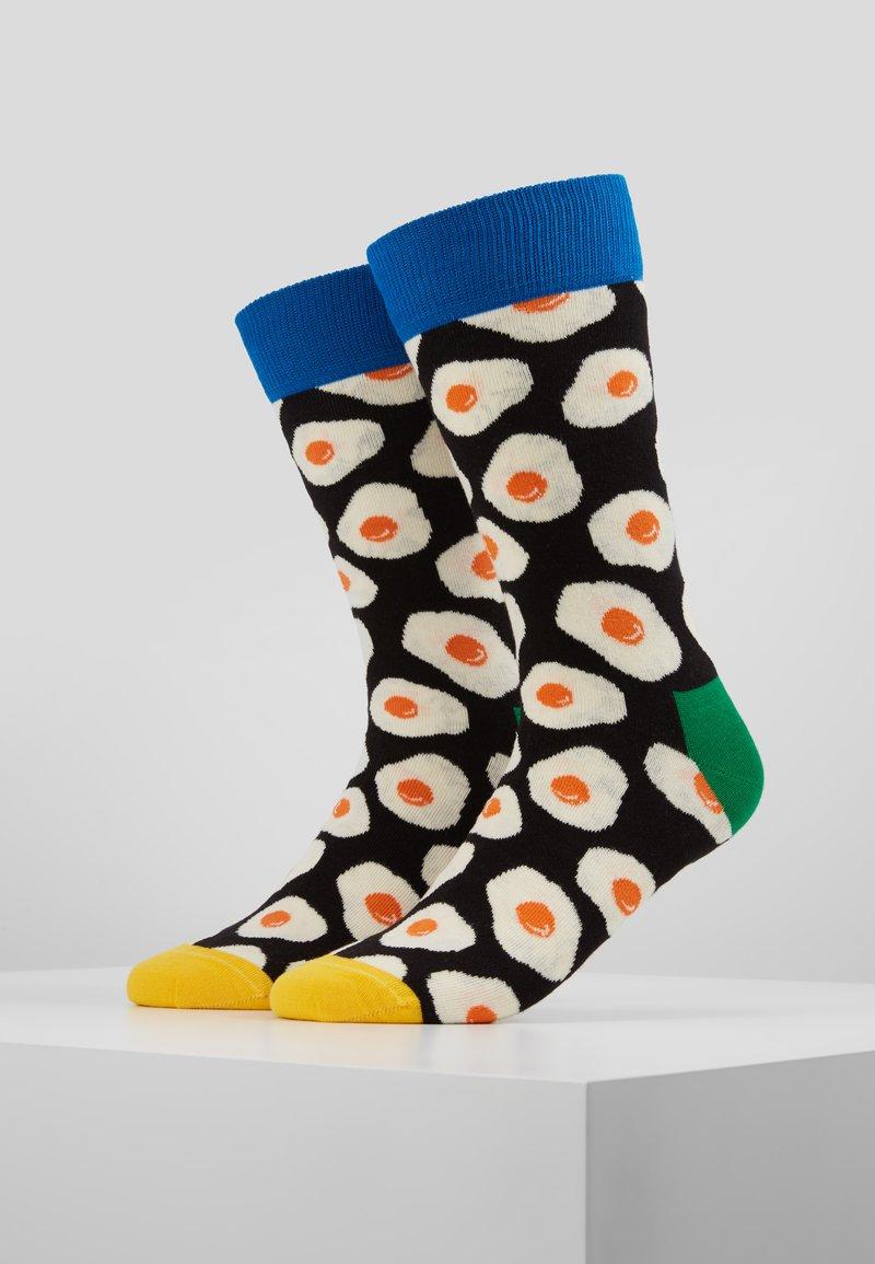 Happy Socks - SUNNY SIDE UP 2 PACK - Socks - black
