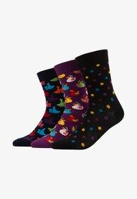 Happy Socks - RUBBER DUCK THUNBS UP DOT 3 PACK - Sokken - multi - 1