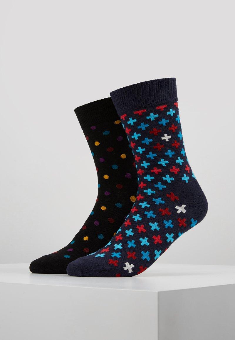 Happy Socks - DOT PLUS 2 PACK - Socken - multi