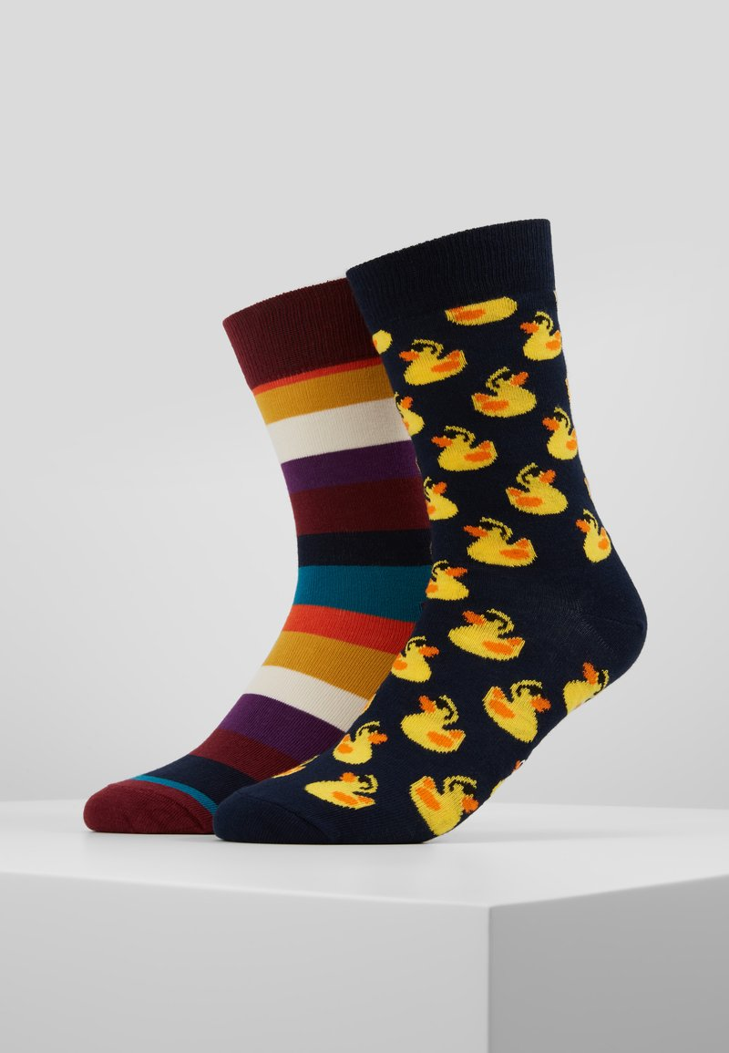Happy Socks - RUBBER DUCK  STRIPE 2 PACK - Socks - multi