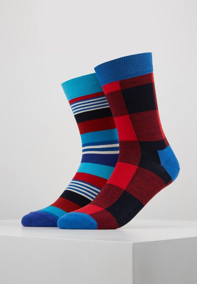 STRIPE LUMBERJACK 2 PACK - Ponožky - multi