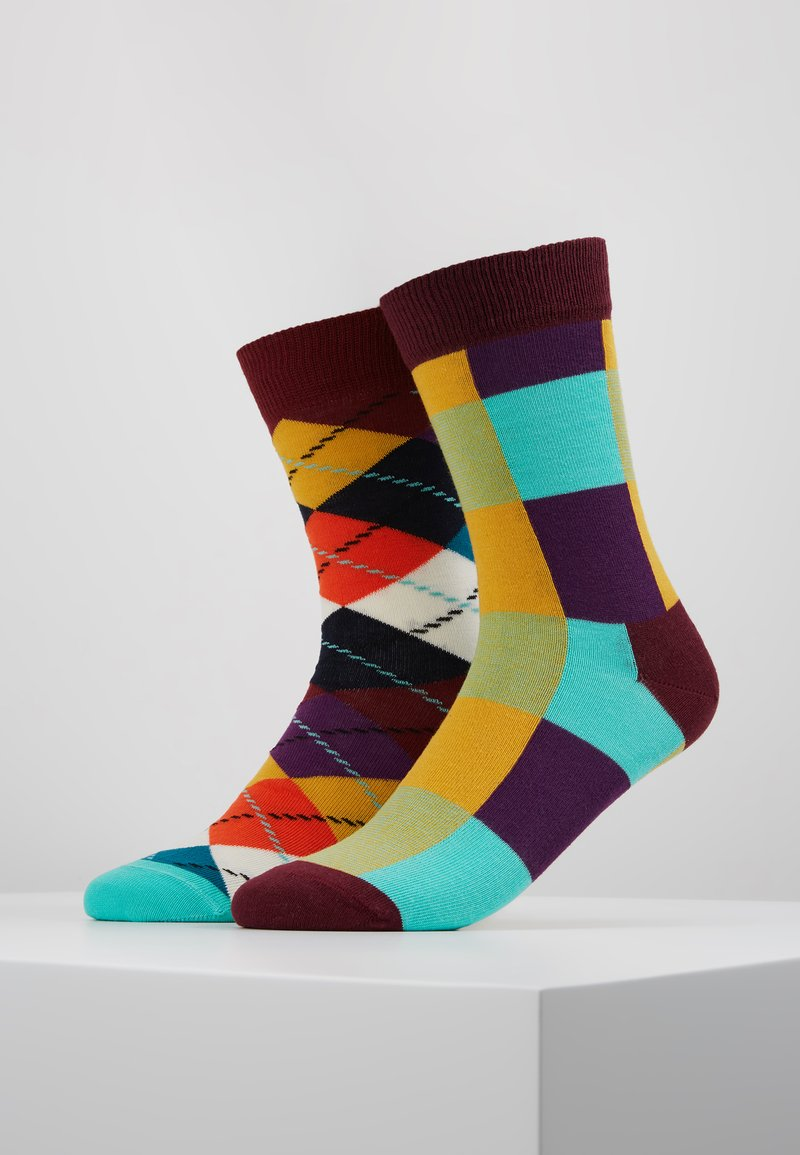Happy Socks - ARGYLE LUMBERJACK 2 PACK - Socken - multi