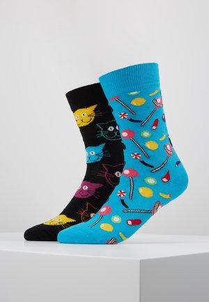 CANDY CAT 2 PACK - Socks - multi