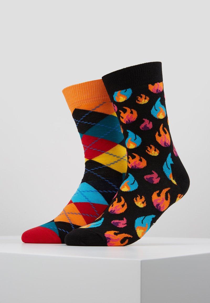 Happy Socks - ARGYLE FLAMES 2 PACK - Socken - multi