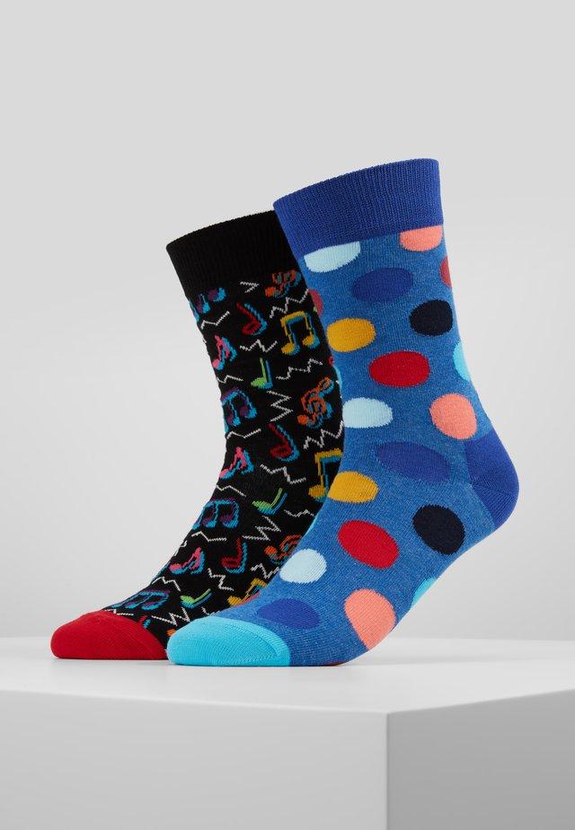 CITY JAZZ BIG DOT 2 PACK - Ponožky - multi