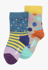 Happy Socks - CREW 2 PACK - Socks - multi-coloured - 0