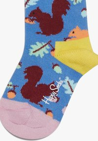 Happy Socks - SMU NATURE CREW 3 PACK - Socks - multicoloured