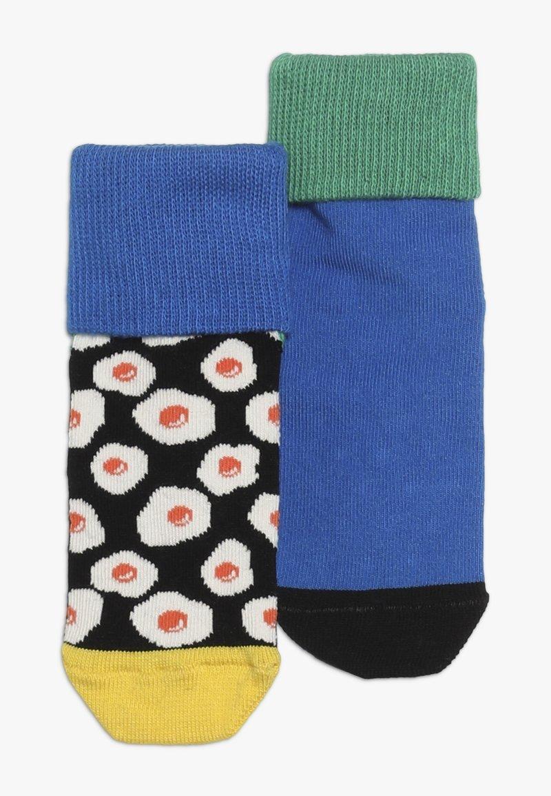 Happy Socks - ANTI SLIP 2 PACK - Socks - black/multi-coloured