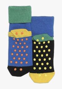 Happy Socks - ANTI SLIP 2 PACK - Socks - black/multi-coloured - 1