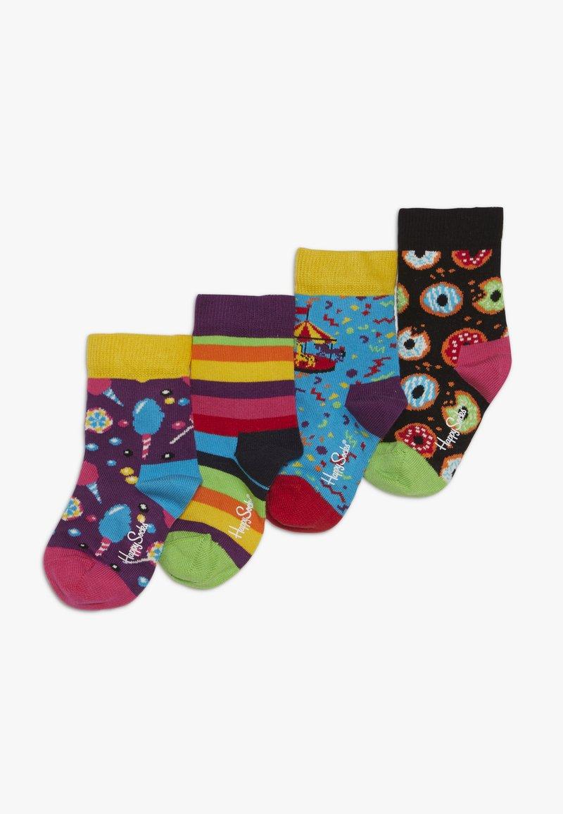 Happy Socks - KIDS CAROUSEL GIFT BOX 4 PACK - Sukat - multicoloured