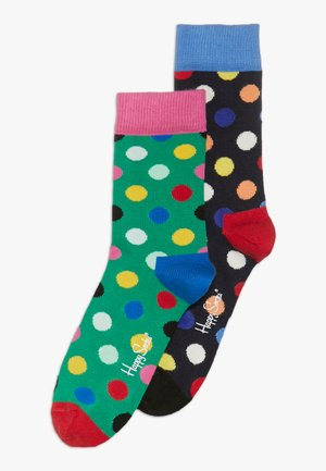 2 PACK - Socks - green/black