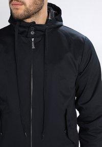 HARRINGTON - HOODED - Summer jacket - marine - 3