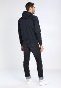 HARRINGTON - HOODED - Summer jacket - marine - 2