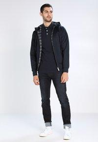 HARRINGTON - HOODED - Summer jacket - marine - 1