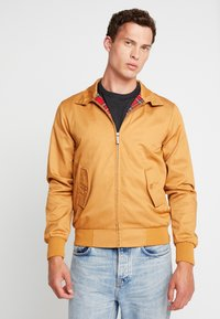 HARRINGTON - Bomberjacks - caramel - 0