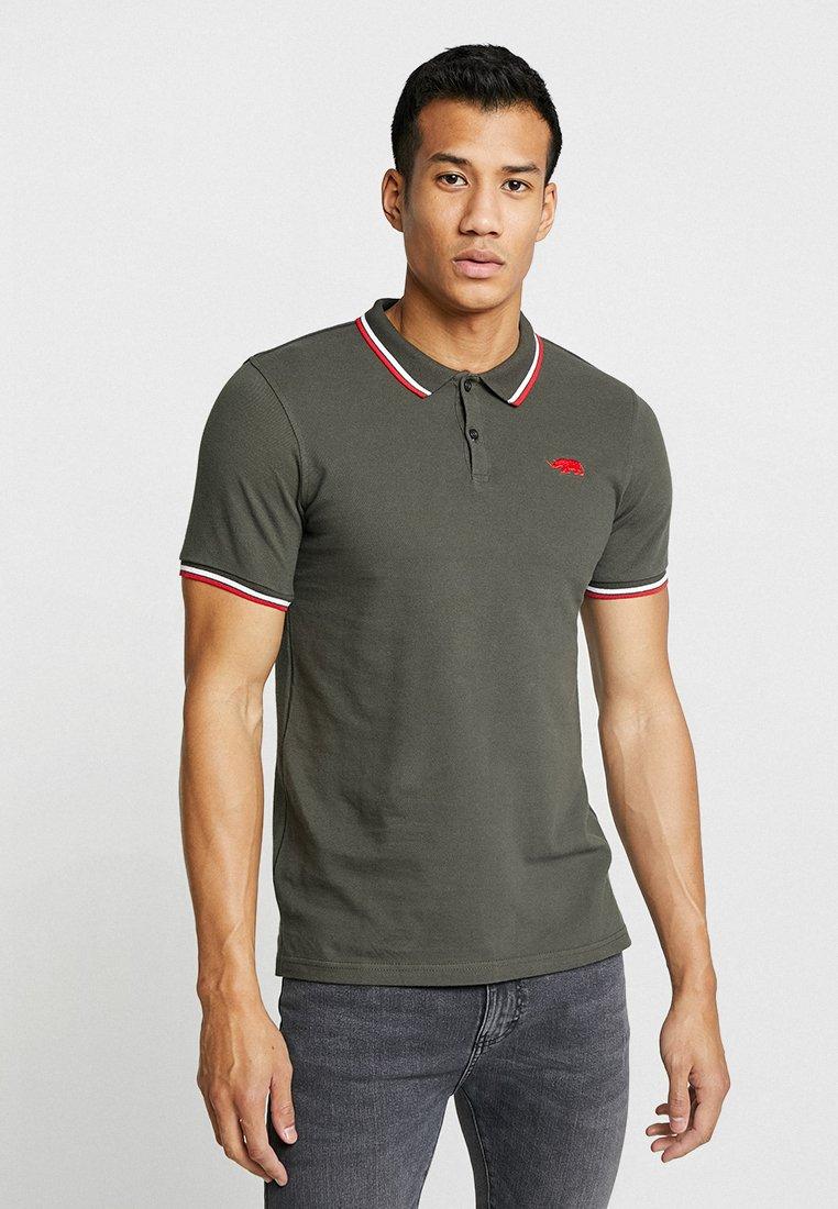 Oliwkowe Koszulki Polo męskie z dostawą gratis | w ZALANDO  LnD0S