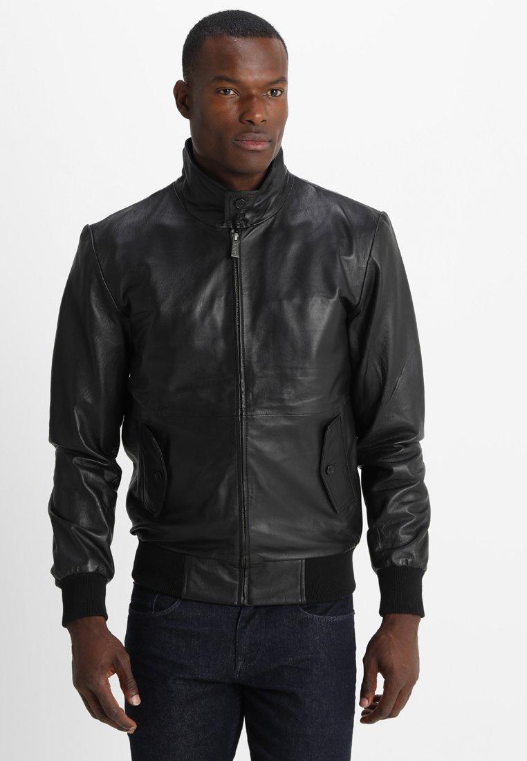 HARRINGTON - HARRINGTON JOHNNY - Leather jacket - noir