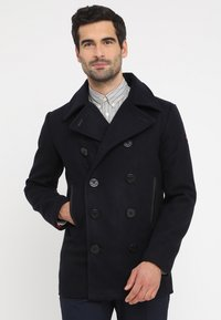 HARRINGTON - PCOAT - Gabardina - navy - 0