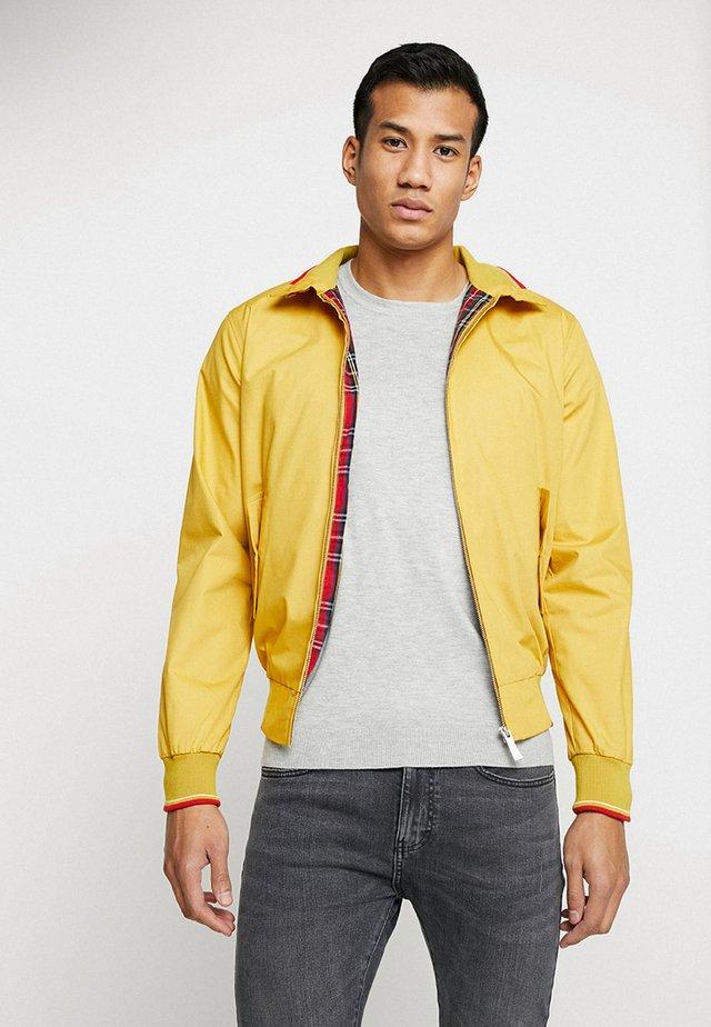 MICK - Bomber Jacket - yellow