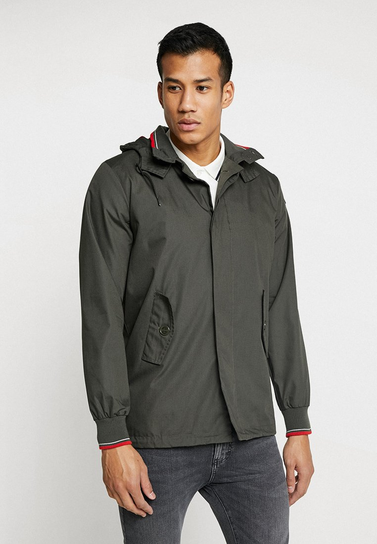 HARRINGTON - MICK HOODED - Leichte Jacke - kaki
