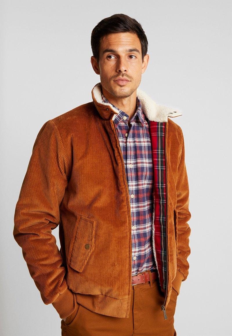 HARRINGTON - LIAM - Light jacket - caramel