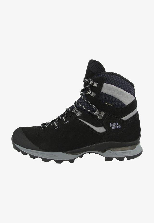 Hiking shoes - black-asphalt