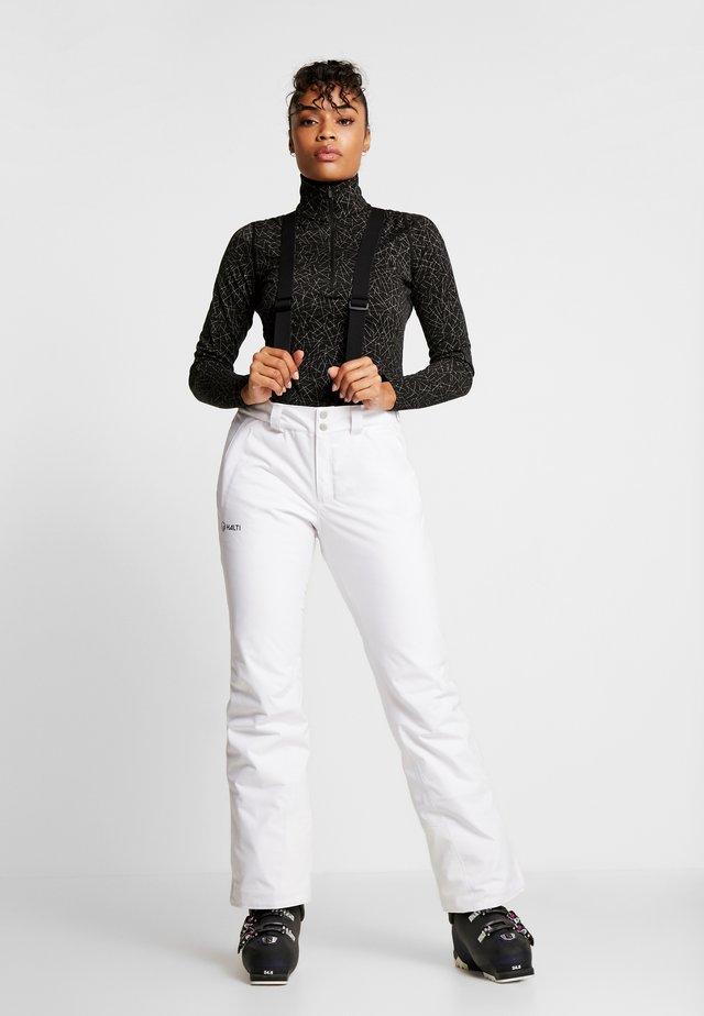 PUNTTI SKI PANTS - Pantaloni da neve - white