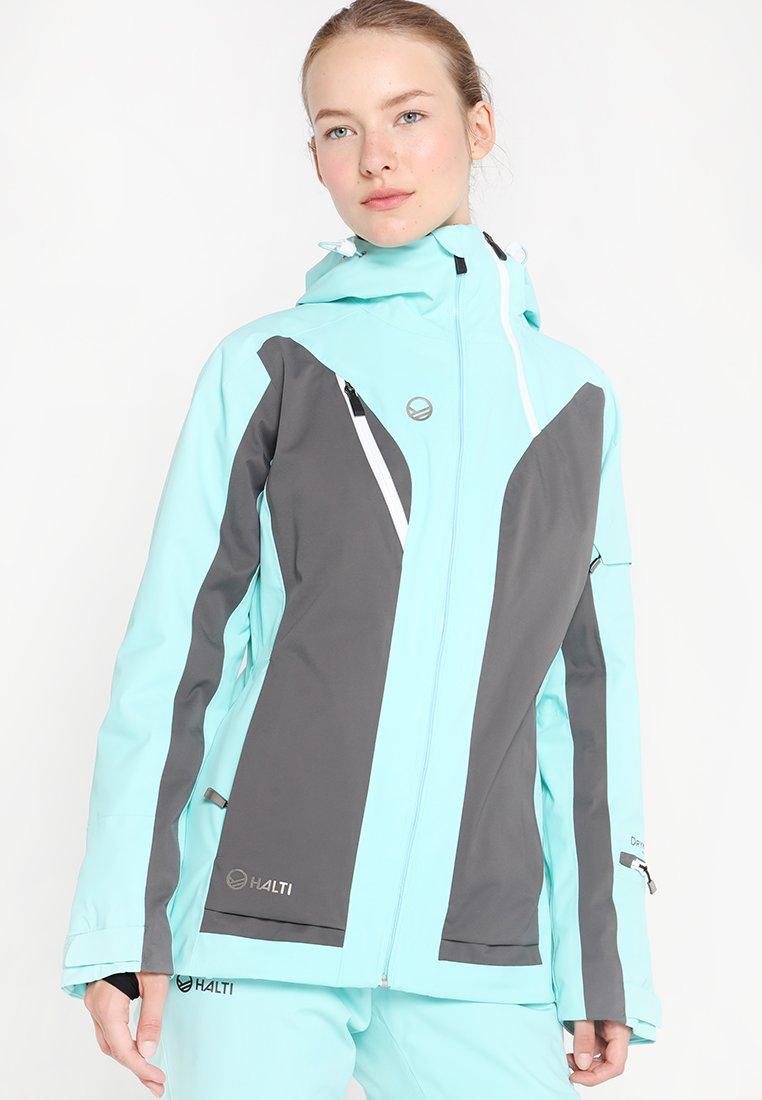 Halti - PODIUM W JACKET - Veste de ski - turquoise